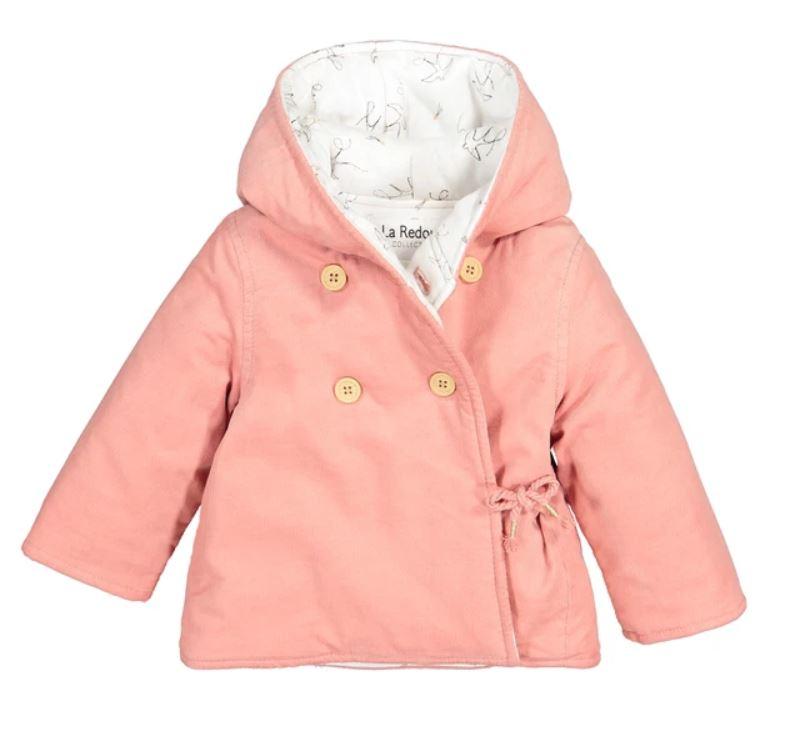 Corduroy Hooded Coat