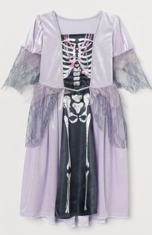 Velour Fancy Dress Costume