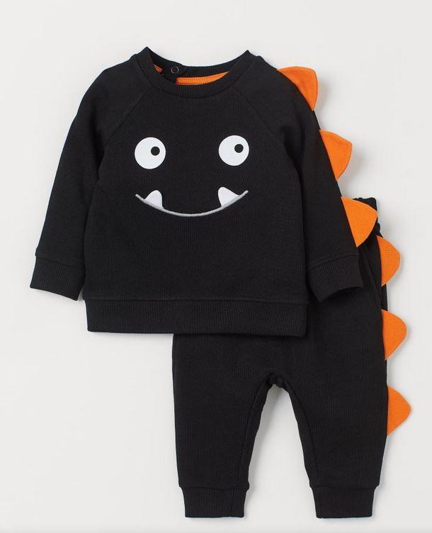 Monster Sweatshirt and Joggers