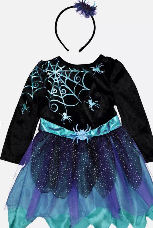 Spider Fairy Costume Set