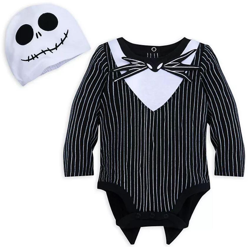 Jack Skellington Baby Costume Body Suit