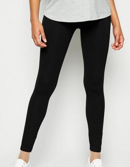 Maternity Black Jersey Leggings