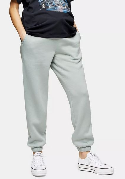 Topshop Maternity Pale Green Joggers