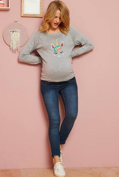 Maternity Slim Stretch Jeans
