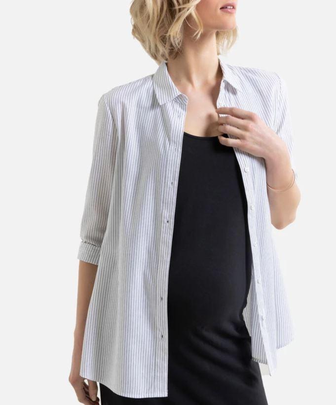 Cotton Maternity Shirt