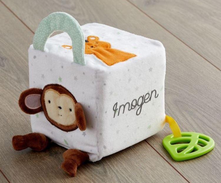 Jungle Animal Soft Activity Cube