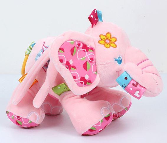 Multifunctional Baby Elephant Rattle