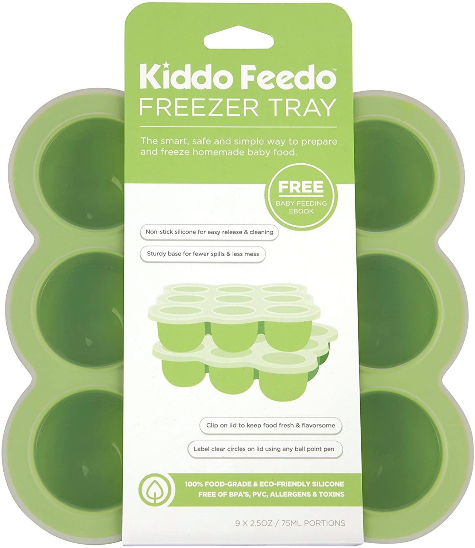 Freezer tray and storage