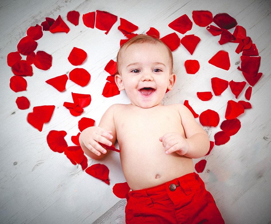 valentine baby names