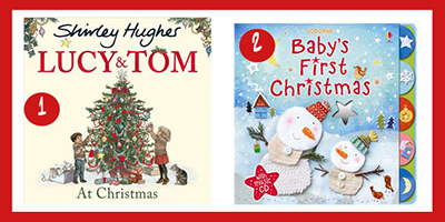 ten of the best books for baby's first christmas