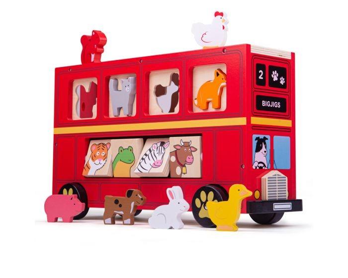 Red Bus Sorter