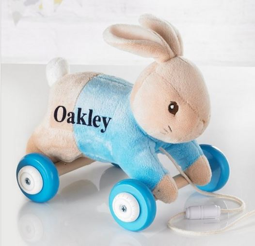 Personalised Peter Rabbit Pull-Along Toy