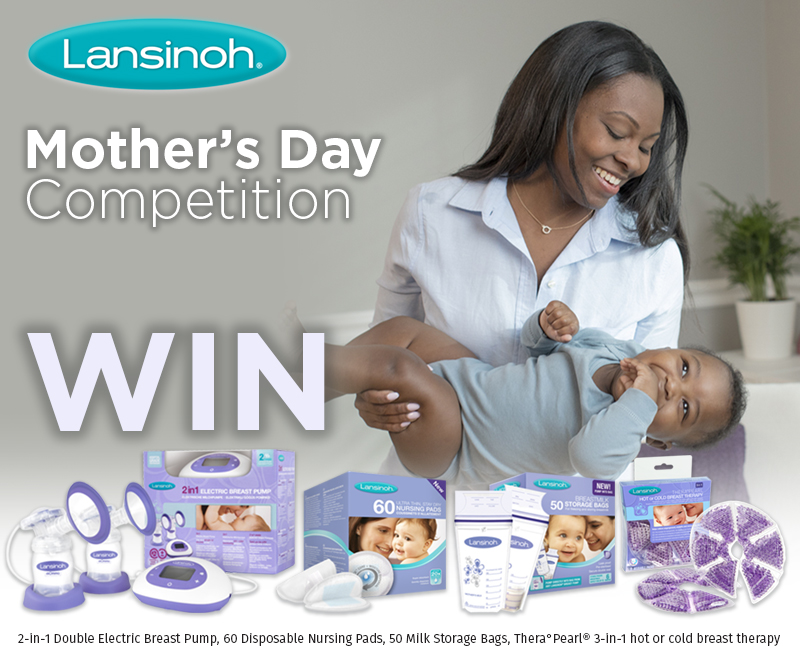 Lansinoh mothers day breastfeeding kit