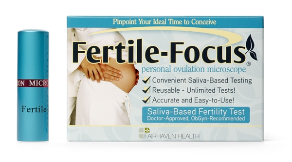 FertilFocus Female Ovulation Microscope Test