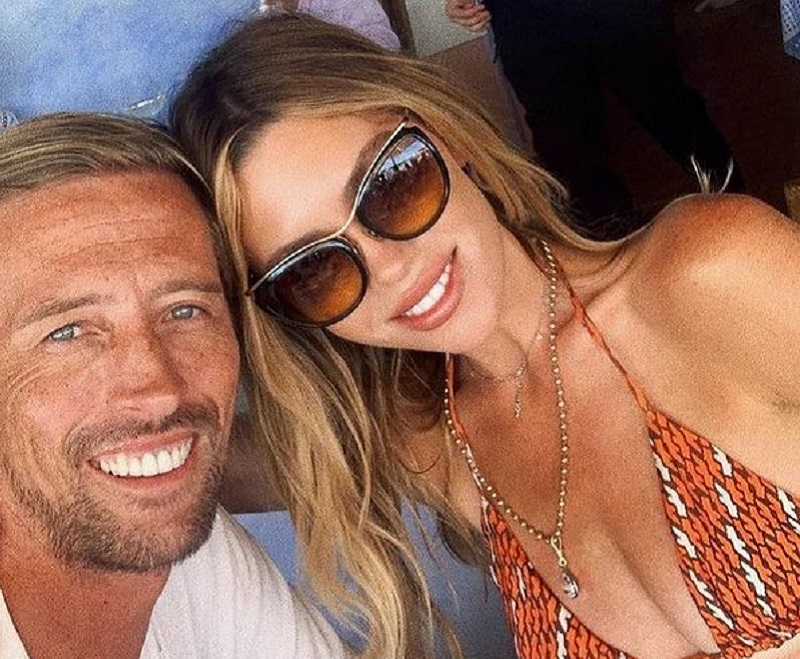 Abbey Clancy and Petter Crouch