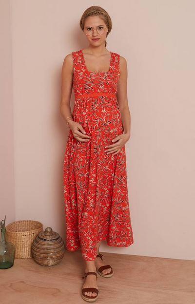Adaptable Maternity & Nursing Knit Dress