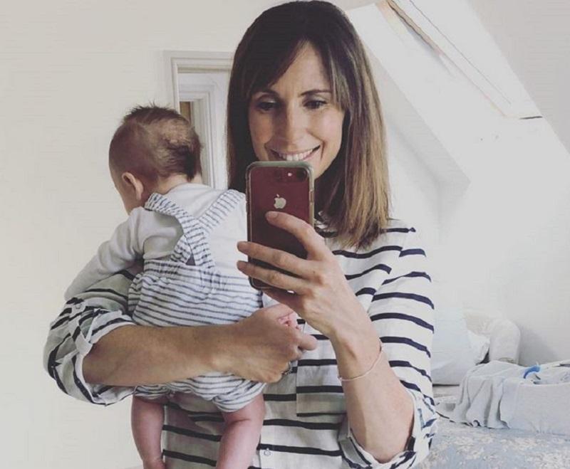 Alex Jones and baby Kit