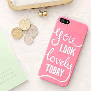 You look lovely today phone case