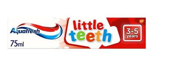 Aquafresh Kids Toothpaste Little Teeth
