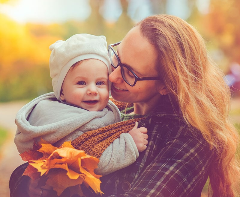 baby with autumn baby name