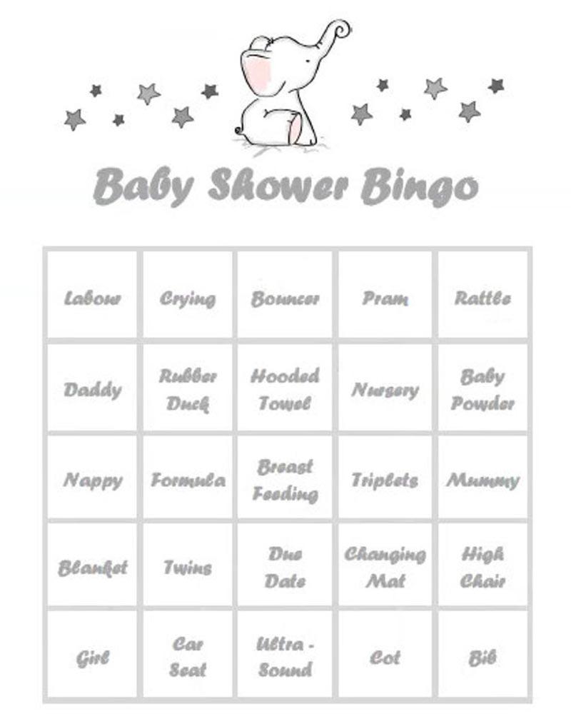 Baby-Shower-Bingo