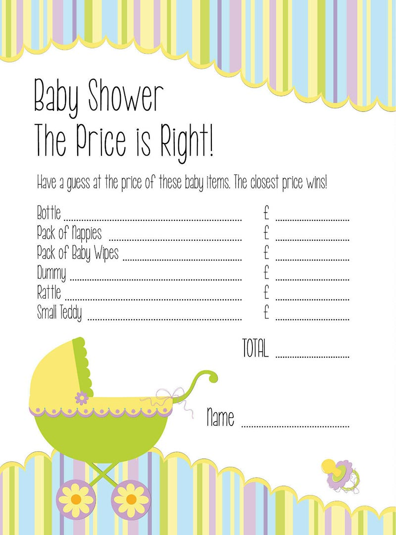 Baby-shower-the-price-is-right