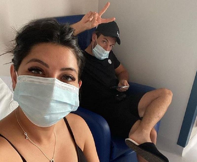 Cara and husband Nathan