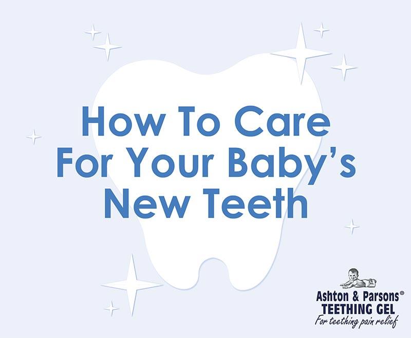 baby using baby tooth brush