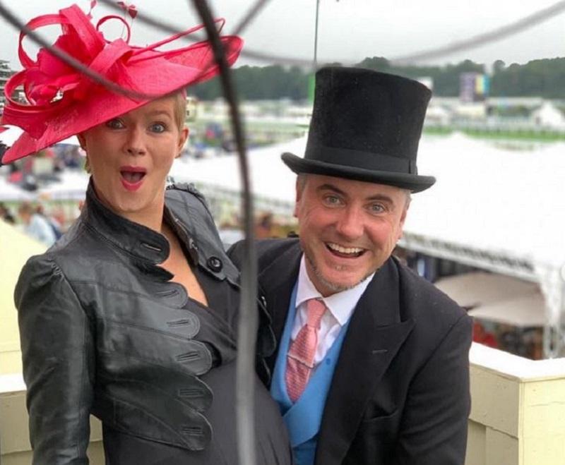 Cecelia Ahern and David Keoghan