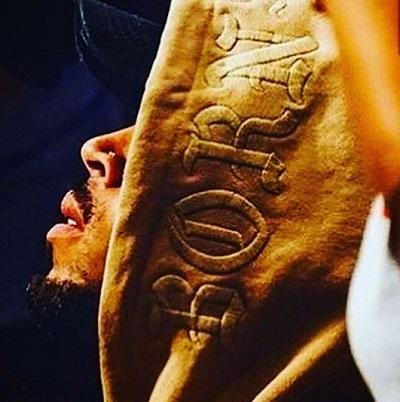 Chris Brown 'Born' shot