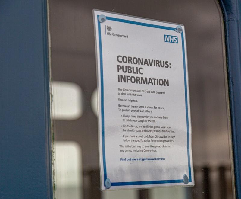 Coronavirus NHS poster