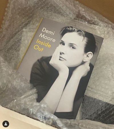 Demi Moore Inside Out book