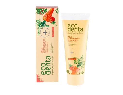 Ecodenta Wild Strawberry Scented Toothpaste