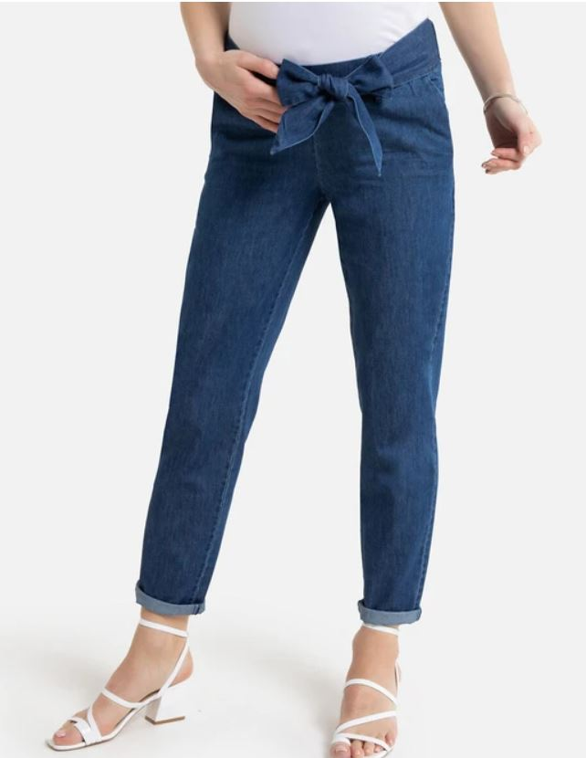 Girlfriend maternity jeans
