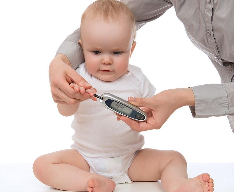 Glucose test baby
