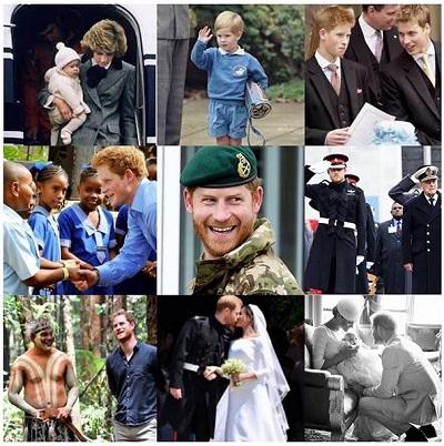 Harry birthday collage