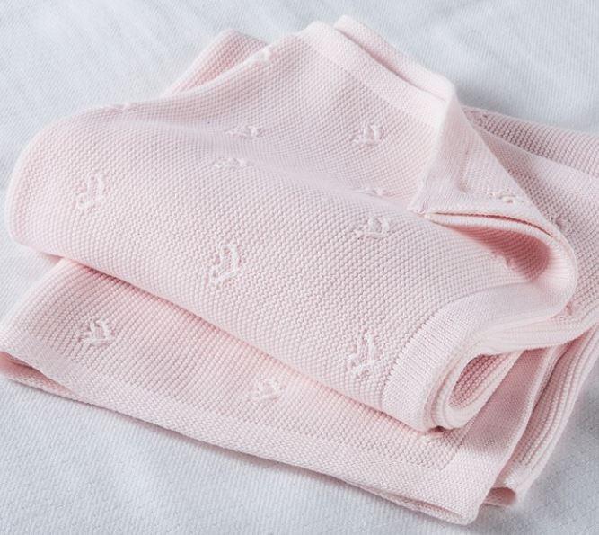 Heart-Stitch Blanket