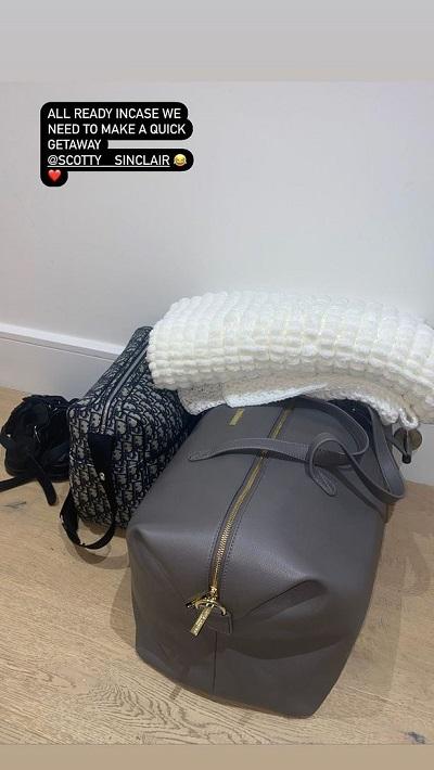 Helen's hospital bag