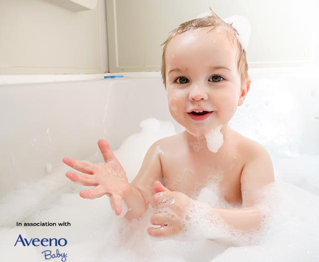 how to wash baby hair