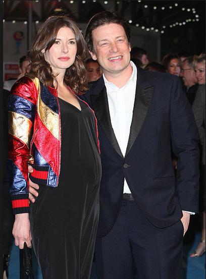 Jamie Oliver pregnancy announcement