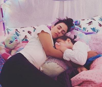Jenna Dewan and daughter