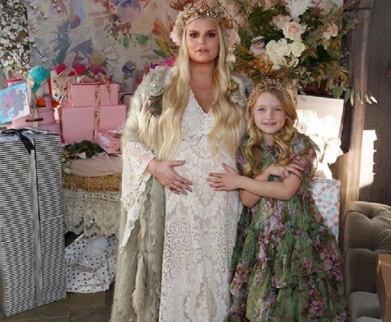 Jessica Simpson baby shower