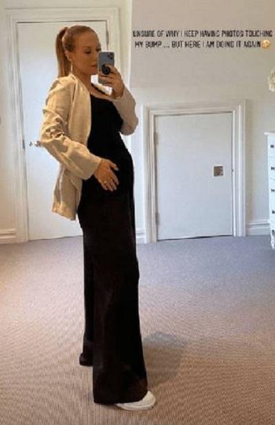 Kate Ferdinand bump pic