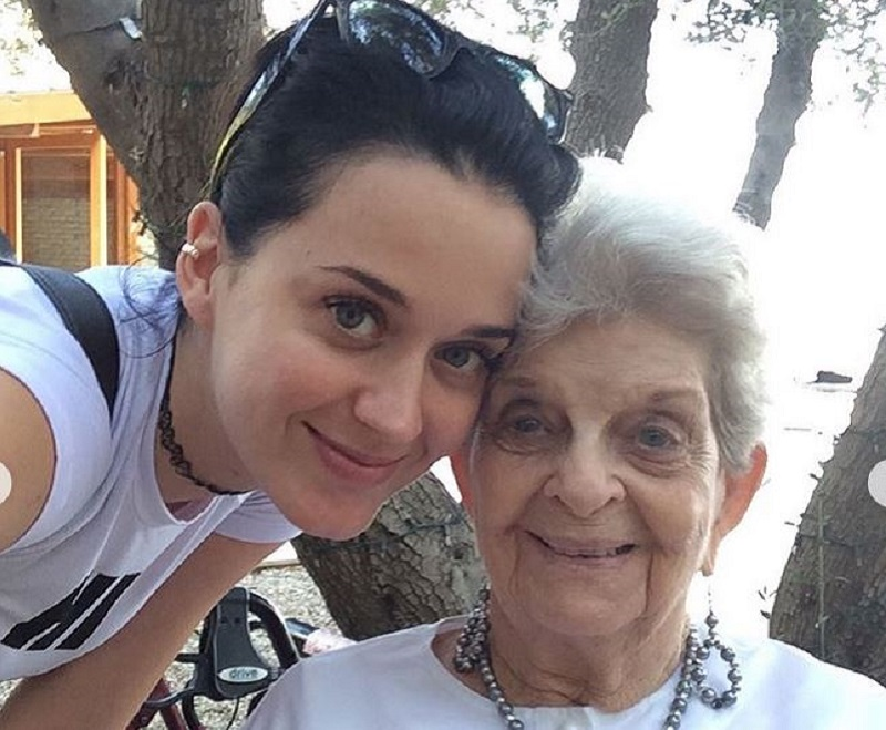 Katy Perry and grandmother