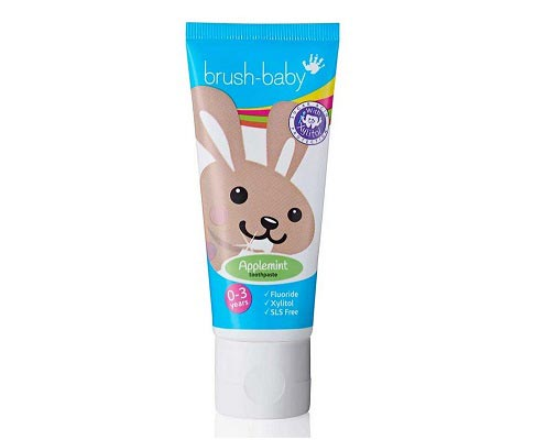 Kids' Applemint Toothpaste (0-3 years) from Brush-Baby