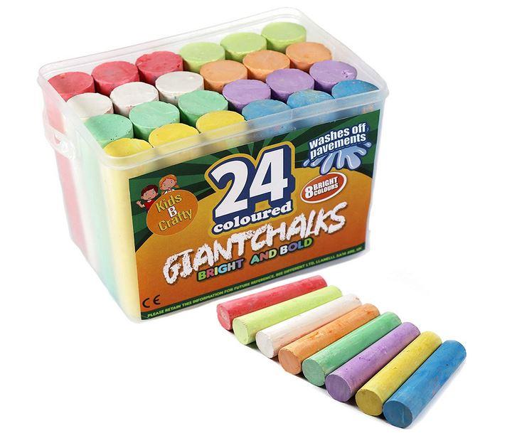 Kids B Crafty Giant Chalks