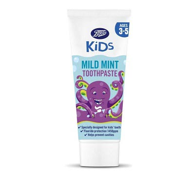 Kids Mint Toothpaste 3-5yrs