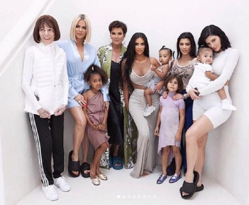 Kim's baby shower