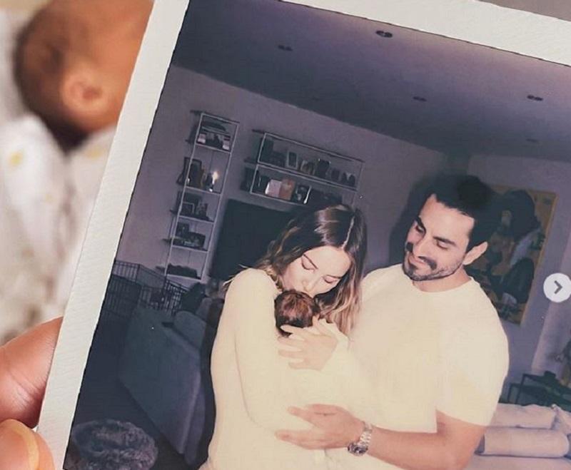 Lauren Pope baby announcement
