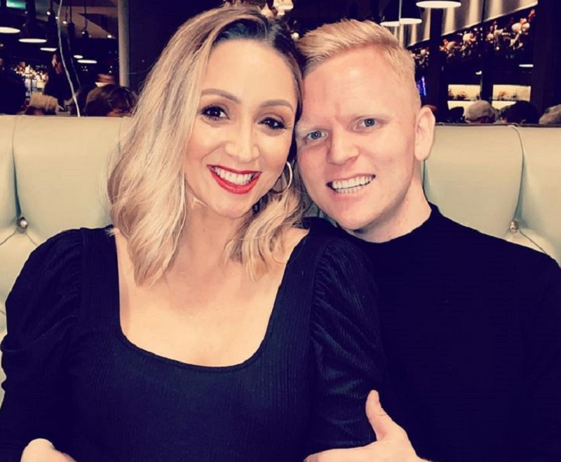 Lucy-Jo Hudson and Lewis Devine